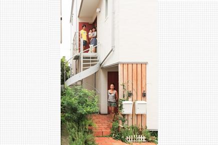 東京都北区Ⅰ様邸 3階建て2世帯住宅