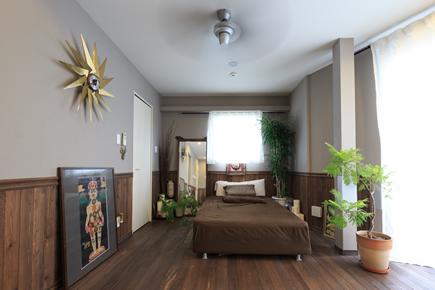 エキゾチックな寝室