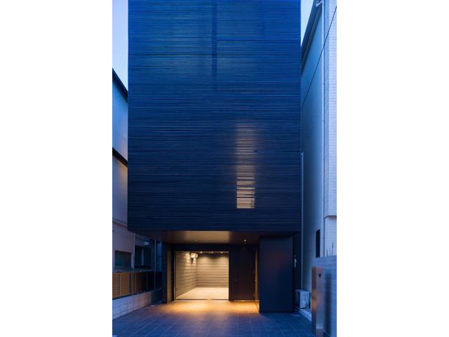 東京/港区|木造軸組工法 玄関