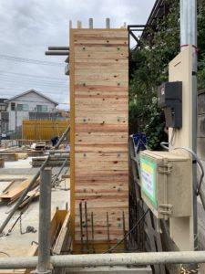 杉板本実型枠コンクリート工法