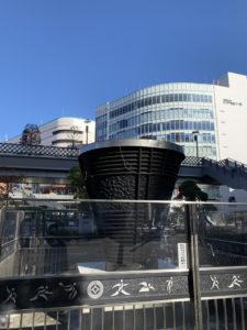旧国立競技場聖火台 JR川口駅前